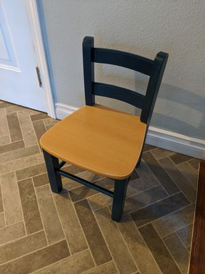 Montessori wood kids chair. for Sale in Portland, OR