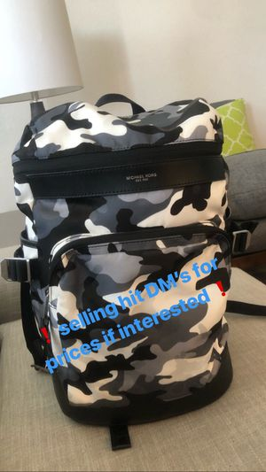 Michael Kors Men's Backpack for Sale in Moreno Valley, CA