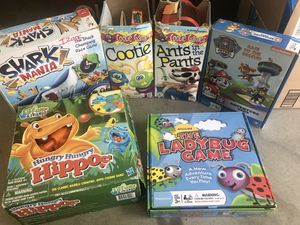 6 Board Games ALL $10 for Sale in San Diego, CA