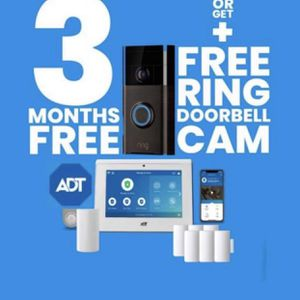 ADT SECURITY MONITORING FIRE AND MEDICAL BEATS VIVINT AND BRINKS RING DOORBELL for Sale in Riverside, CA