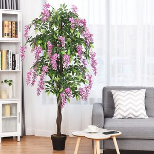 🌿 NEW 6-Feet Artificial Wistera Silk Indoor-Outdoor Tree for Sale in Miami, FL