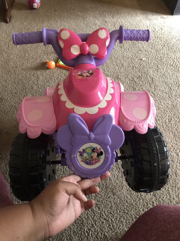 Electric Minnie mouse bike for kids