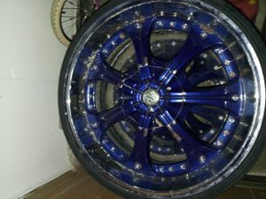 22 inch tis rims for Sale in Columbus, OH