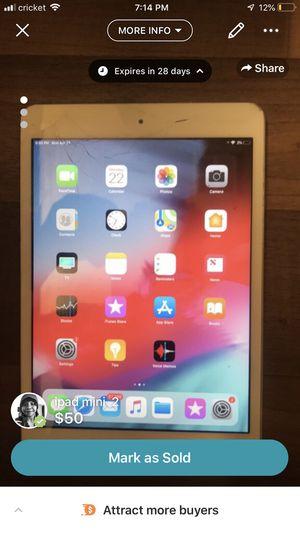 iPad mini 2 for Sale in Springfield, VA