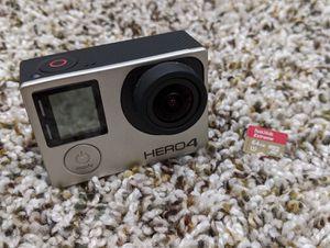 GoPro Hero 4 Silver w/ accessories for Sale in Long Grove, IL
