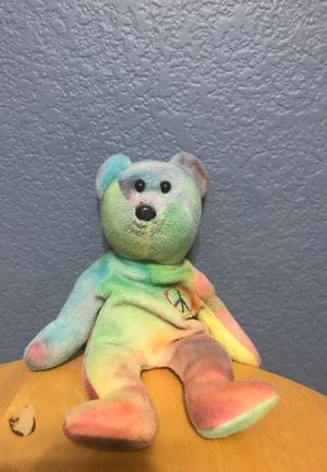 Rare peace beat Ty beanie baby 1993 for Sale in Las Vegas, NV