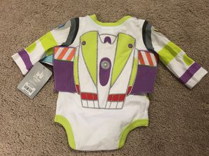 0-3 Month Baby Boy Buzz Lightyear Bodysuit / Costume for Sale in Fairfax, VA