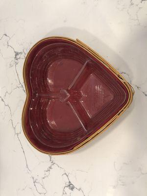 Heart Longaberger basket for Sale in FL, US