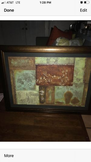 Picture in frame in excellent condition for Sale in Modesto, CA