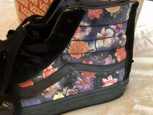 DEADSTOCK Rare Vans Sz. 8.5 Mens 10 Women's Galaxy Floral Hi skate shoes - shipping only please for Sale in Portland, OR