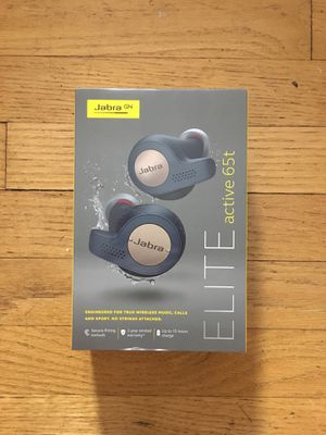 Jabra Elite Active 65t wireless Bluetooth earbuds for Sale in Seattle, WA