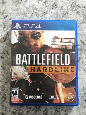 Battlefield Hardline PS4 for Sale in Pensacola, FL