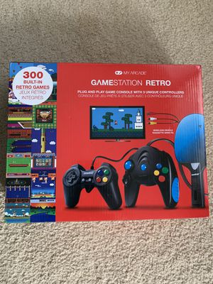 BRAND NEW! My Arcade Gamestation Retro Console for Sale in East Rutherford, NJ