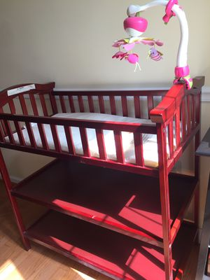 Changing Table (used) Cherry color for Sale in PA, US