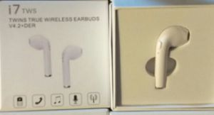 1 Box of i7 New Single Earbud and Charger for Airpods Compatible with Android and Apple for Sale in Midway City, US