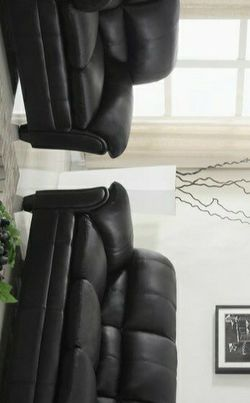 💦Halo Black Sofa & Loveseat | U5192 by Global for Sale in Haverford,  PA