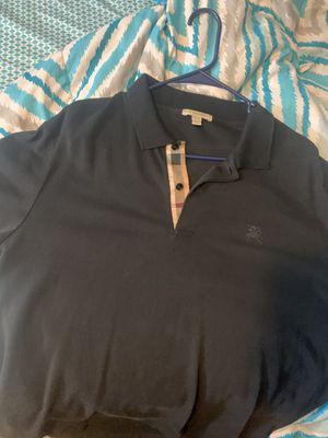Burberry Shirt Xxl for Sale in Wayne, MI
