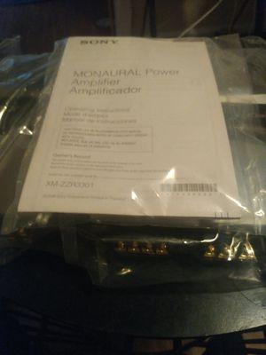 Sony Xplod amp for Sale in Austin, TX