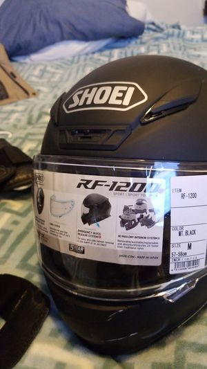 Shoei helmet and icon vest for Sale in Los Angeles, CA