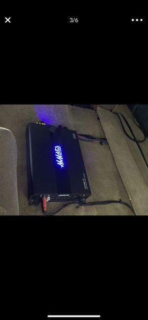 Matt's pro audio 1200w amp and 2 12s for Sale in Hialeah, FL