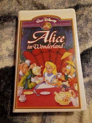 Alice in Wonderland VHS for Sale in Wayne, MI