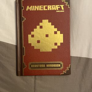 Minecraft Red stone Handbook Hardcover for Sale in Littleton, MA