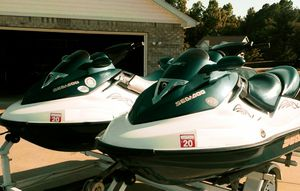 Pair (2)Seadoo GTX155 withTRAILER! for Sale in Towson, MD