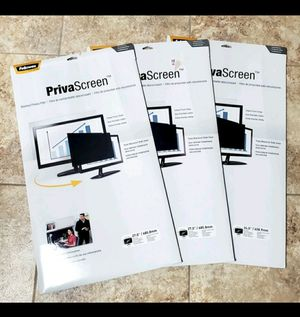 Computer Privacy Screens 3 for Sale in Martinsburg, WV
