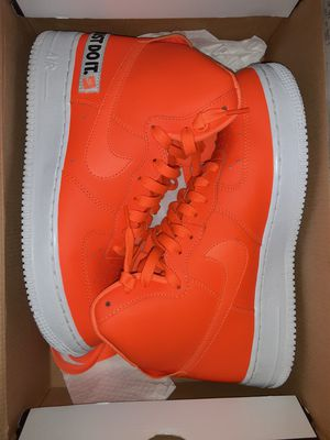 Size 8.5 mens nike airforce 1 worn once rep box for Sale in Everett, WA