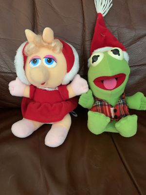 Miss piggy and Kermit for Sale in Corona, CA