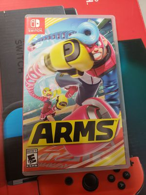 Nintendo switch game arms for Sale in Galt, CA