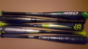 5 brand new bats still in wrappers for Sale in Bethel, CT