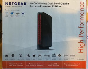 Netgear N600 wireless Dual band Gigabit Router for Sale in Castro Valley, CA