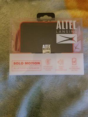 Altec Lansing Bluetooth Solo Motion Speaker for Sale in Boston, MA