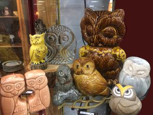Vintage Owl Collectibles for Sale in Lewisville, TX