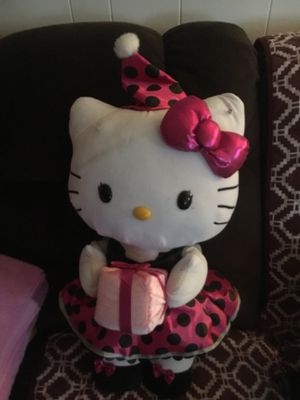 Hello Kitty large plush toy for Sale in Solon, OH