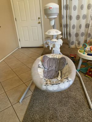 Fisher-Price Elephant Swing for Sale in Chandler, AZ