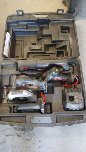 Craftsman 4 piece 19.2 v power tool set for Sale in Tracy, CA