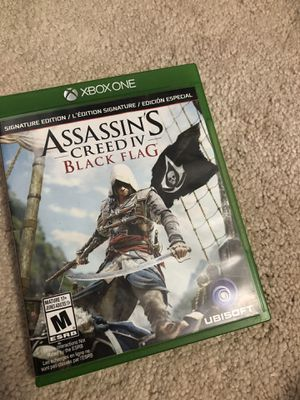 Xbox one assassin creed iv black flag like new for Sale in Boca Raton, FL