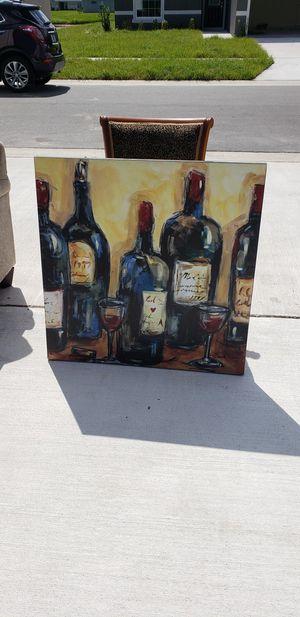Wine painting for Sale in Zephyrhills, FL