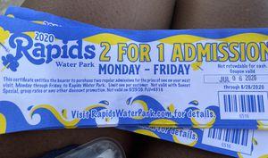 Rapid water park tickets for Sale in Miramar, FL