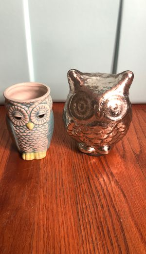 Decorative owls for Sale in Redlands, CA