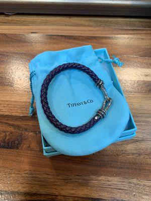 Tiffany & co. Knot single braid bracelet purple for Sale in Los Angeles, CA