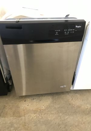 Stainless whirlpool dishwasher for Sale in Denver, CO