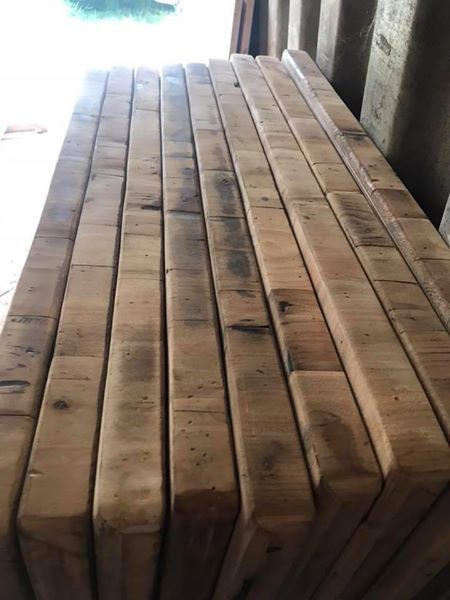 Restaurant tables, solid wood, reclaimed wood