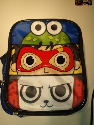 Ryan's world lunchbag box is in new condition with tags asking $15 for Sale in Gardena, CA