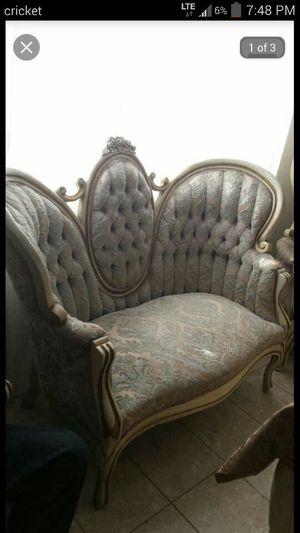 Antique furniture sofa and 2 chairs for Sale in Tucson, AZ