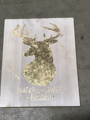 Deer Decorative Wall Sign for Sale in South El Monte, CA
