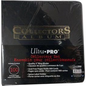 Ultra pro binder includes 100 pg 9-pkt pages for Sale in North Las Vegas, NV