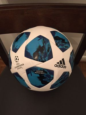 ORIGINAL BRAND NEW 2019!!! MODEL CHAMPIONS LEAGUE FIFA APPROVED OFFICIAL MATCH BALL SIZE 5 for Sale in Lincolnia, VA